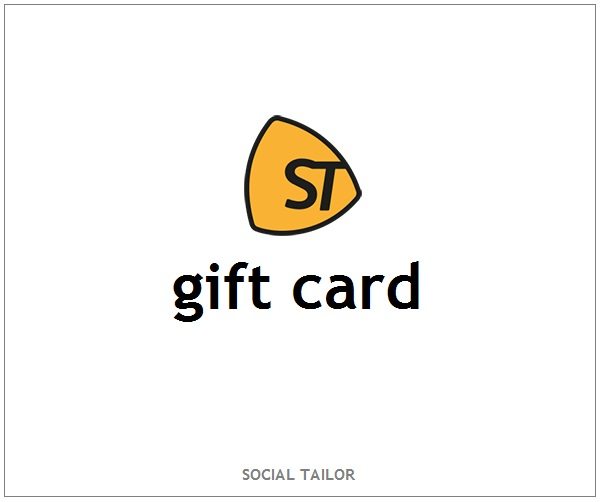THE SOCIAL TAILOR GIFT CARD