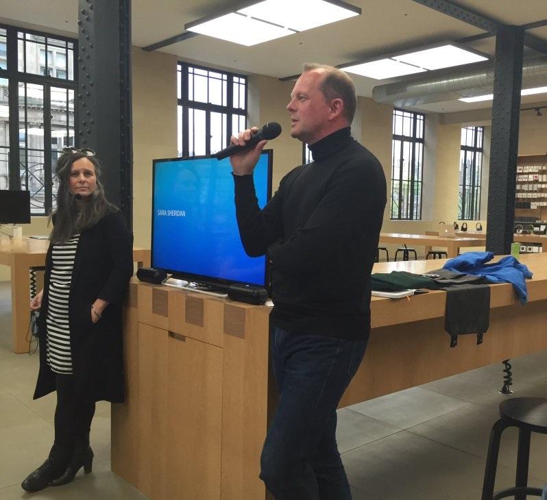 Apple Store - Blogging for Business-Edinburgh